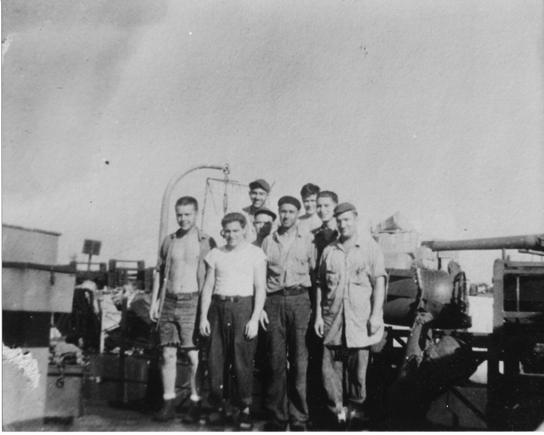 Dad Jack Navy Front Row-2nd from the left