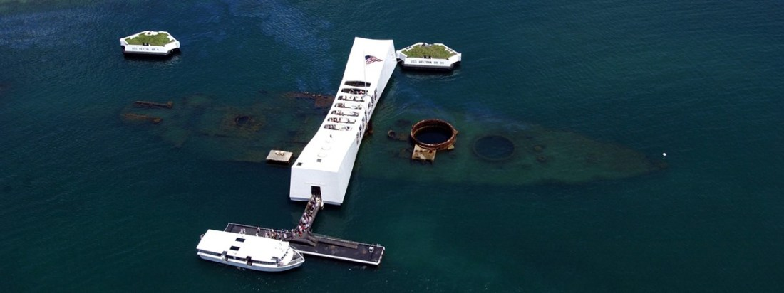 USS Arizona Pearl Harbor Memorial. Courtesy of US Navy