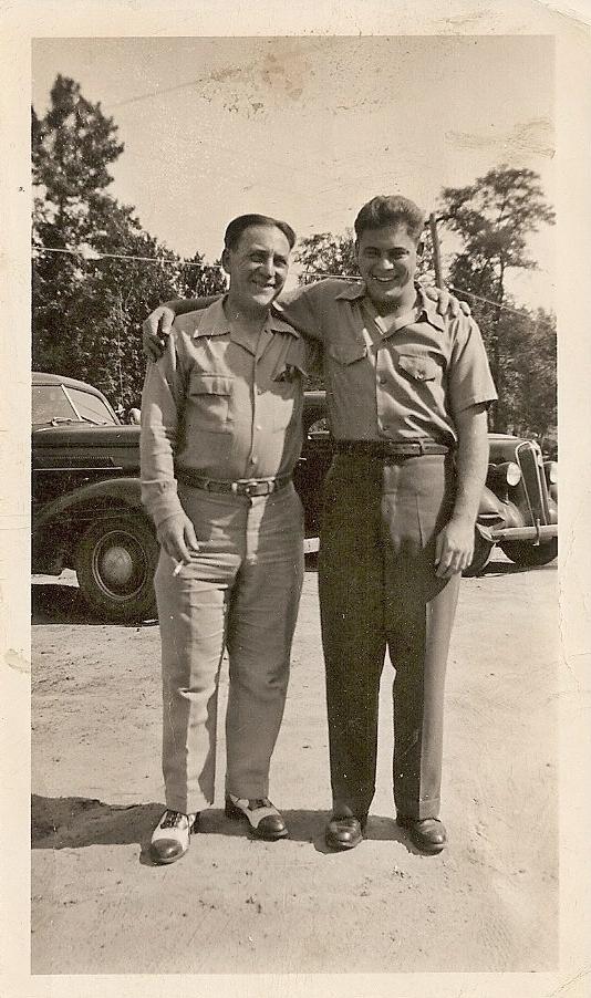 Dad & Eddie (Father)1946