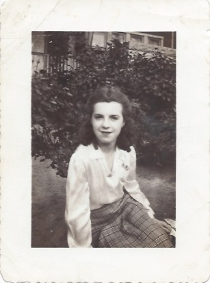 Mom Betty Crew summer of 1942
