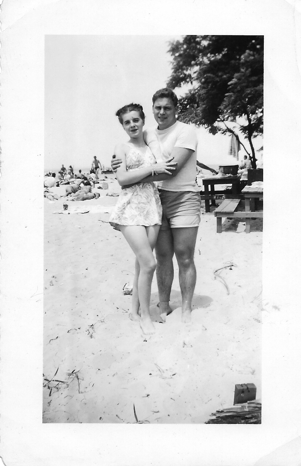 Jack & Betty at the beach