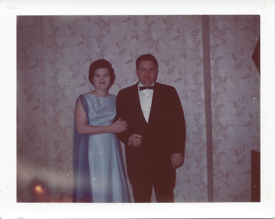 Jack & Betty dressed up Lakewood Ave