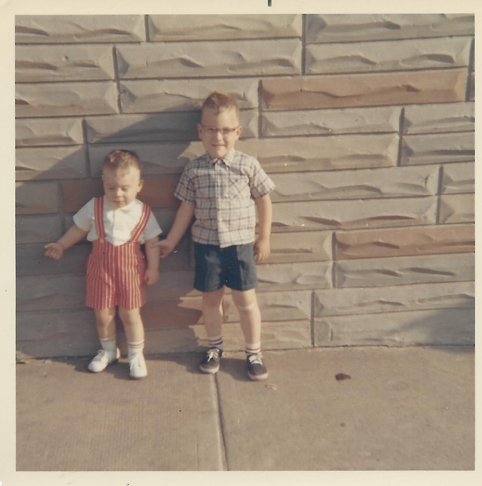 Jack & Joe June 1967 Lakewood Ave