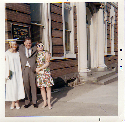 Nancy TCHS grad 1967 BettyAnn, Dad
