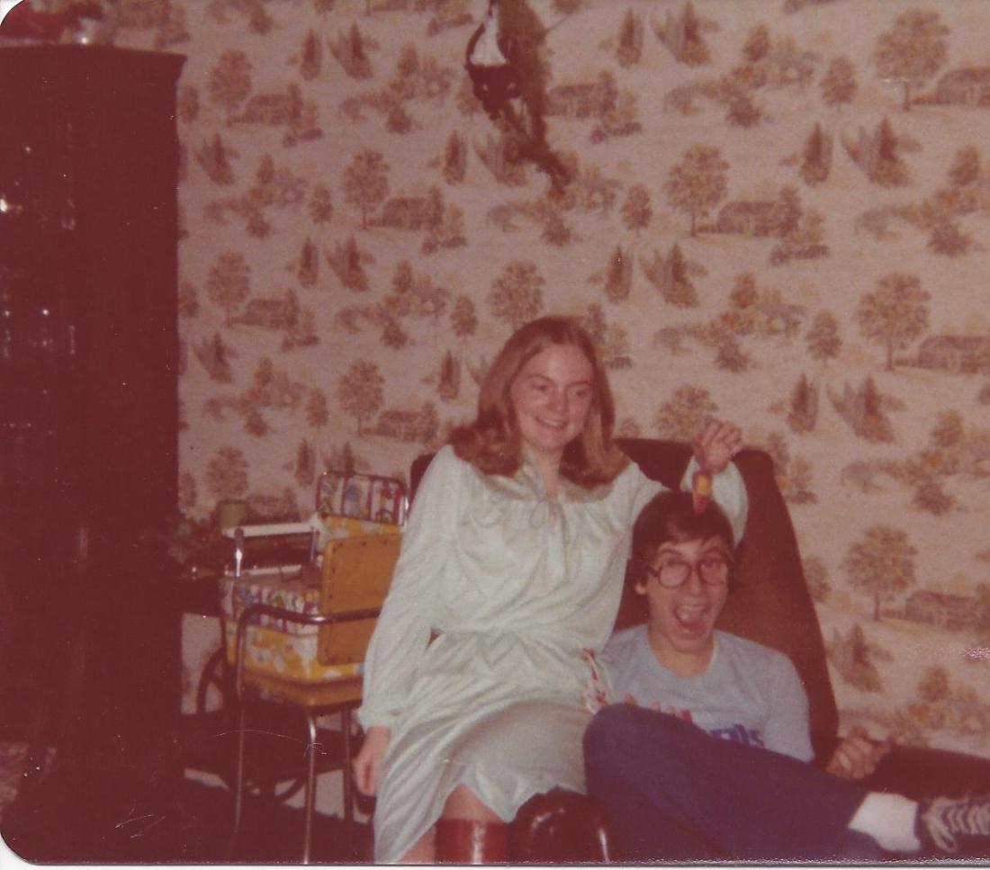 Jack & Jane Lakewood Ave. Jan. 1979