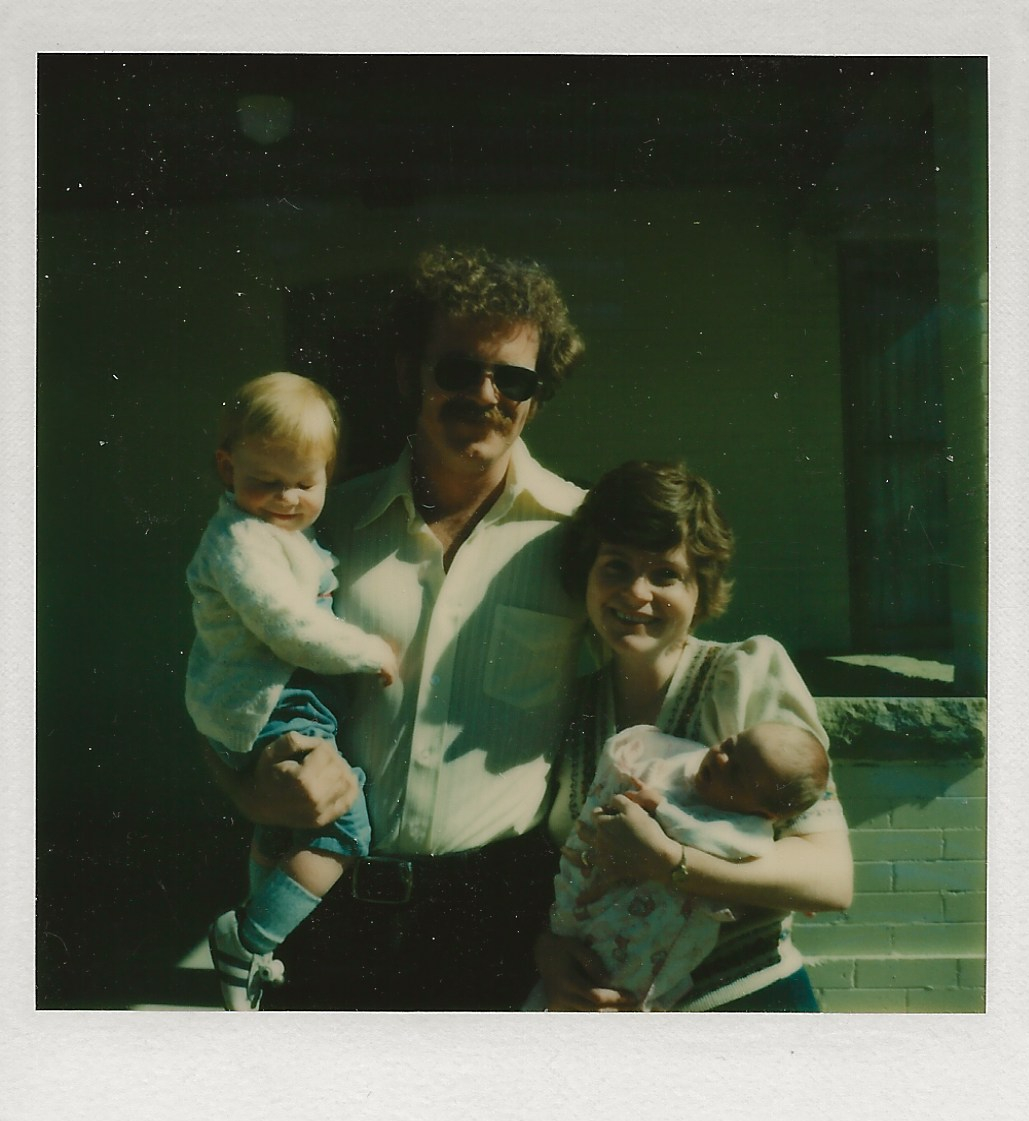 Jim Nancy Maura Katie 1977