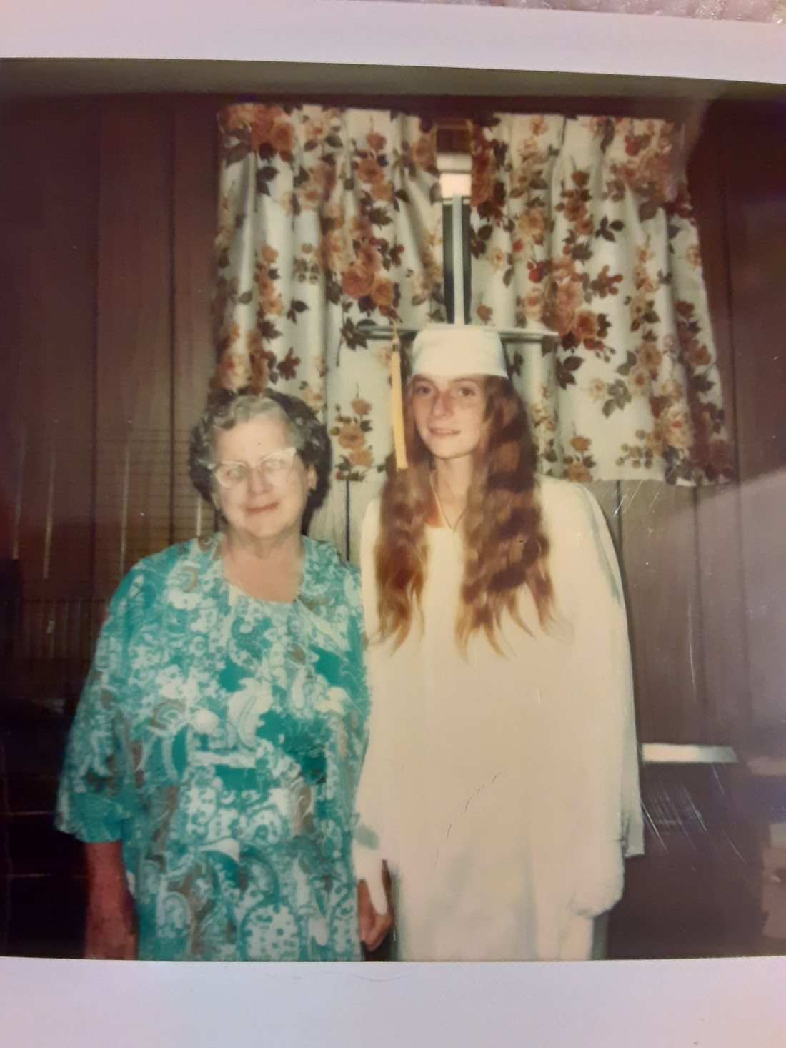 JoAnn's Graduation with Nanny 1975