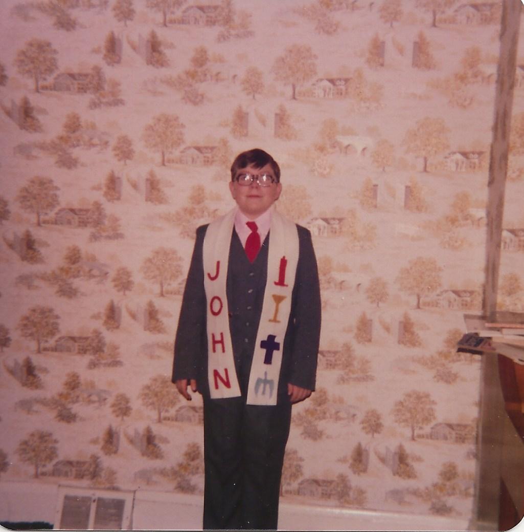 Joe confirmation 1979 Lakewood