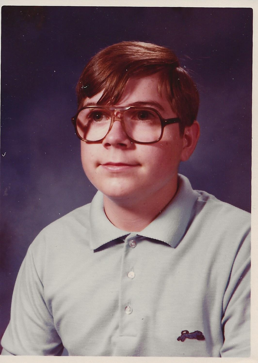 Joe school pic 1979