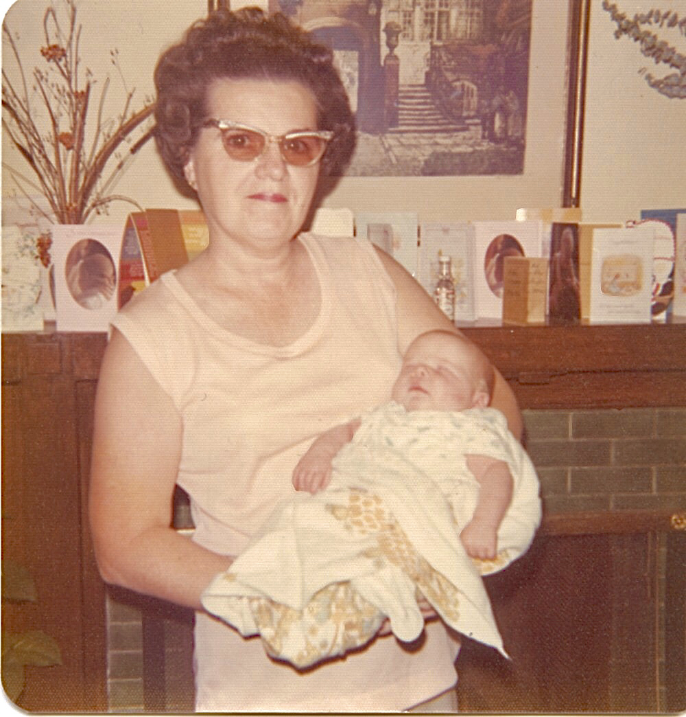 Mom and Maura September 1975