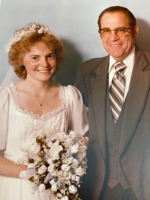 1983 Jand and Dad Jane's Wedding