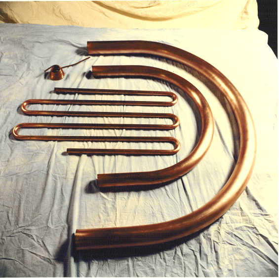Bent Copper tubes