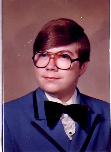 Joe high school pic