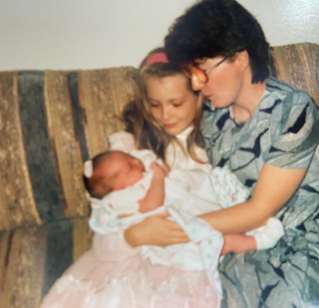 1986 Betty, April and Sarah
