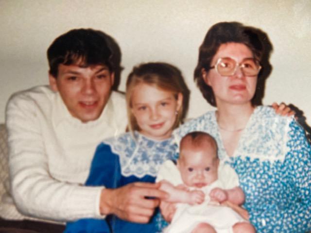 1986 Jeff, Sarah, Betty and April