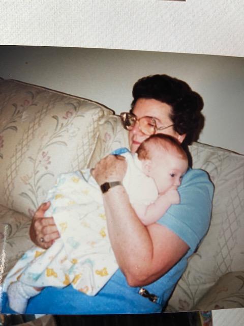 1986 Mom and Sarah