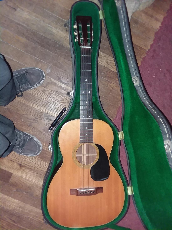 CF Martin guitar