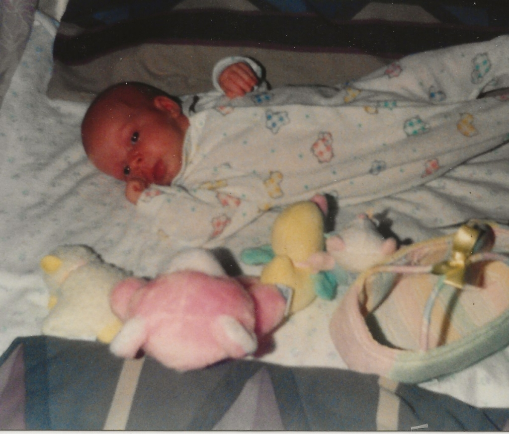 Katie Jean Panetti. January 1993.
